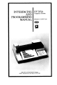 HP 7470A Interfacing and programming manual - Page 3