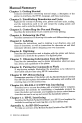 HP 7470A Interfacing and programming manual - Page 4