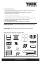 York Fitness 56020 Owner's manual - Page 5