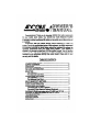 Adcom GFA-5225 Owner's manual - Page 3