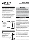 Peco T170 Manuals and User Guides, Thermostat Manuals — All